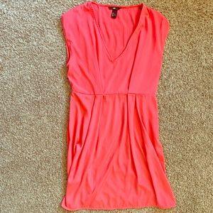 H&M Salmon Sleeveless Dress